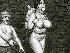 Shake those fat udders, slave