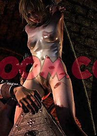 Nipples rock hard as she gasped pic 4