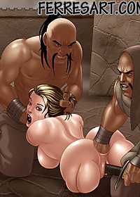 The mongols were very cruel to their helpless fuck-toy pic 3