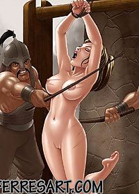 The mongols were very cruel to their helpless fuck-toy pic 4